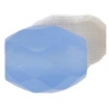 Facet Oval Reconstructed B-grade 16in 10x12mm Chalcedony